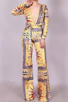 SJ Style Printed Jumpsuit