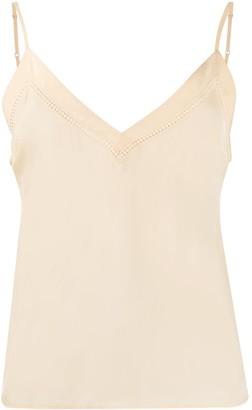 Sandro Paris floaty V-neck camisole
