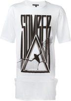 Alexandre Plokhov 'Somber' logo relaxed fit T-shirt