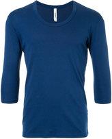 Attachment three-quarter sleeve T-shirt