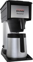 Bunn-O-Matic Thermal Carafe Home Coffee Brewer - BT - Black - 10-Cup