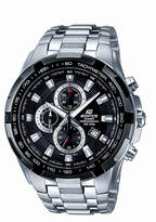 Edifice Black Dial Chronograph Watch