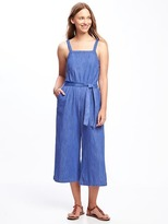 Old Navy Square-Neck Wide-Leg Jumpsuit for Women