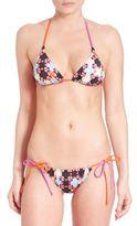 Emilio Pucci Monreal Printed Bikini Top