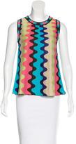 M Missoni Sleeveless Knit Sweater