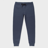 Paul Smith Men's Slate Blue Organic-Cotton Sweatpants