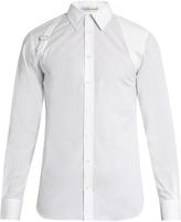 Alexander McQueen Harness long-sleeved shirt