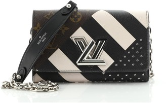 Louis Vuitton Twist Chain Wallet Limited Edition Monogram Canvas