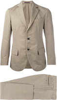 Mp Massimo Piombo - Unconstructed single-breasted suit - men - Cotton/Linen/Flax/Viscose - 50