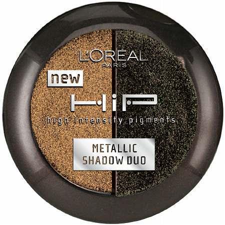 L'Oreal HiP Metallic Eye Shadow Powder Duo
