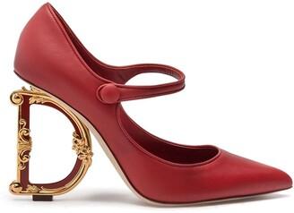 Dolce & Gabbana Mary Jane baroque heel pumps