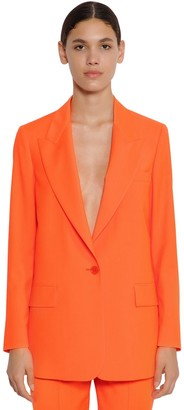 MSGM Cool Virgin Wool Blazer