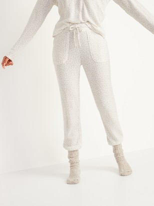 Old Navy Mid-Rise Cozy Thermal-Knit Jogger Lounge Pants for Women