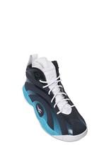 Reebok Leather Shaqnosis Og Basketball Sneakers