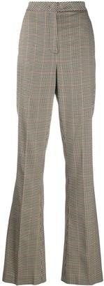 Manuel Ritz Check Print Trousers