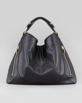 Rachel Zoe Joni Leather Hobo Bag, Black