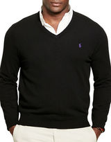 Polo Ralph Lauren Big and Tall Merino Wool V-Neck Sweater