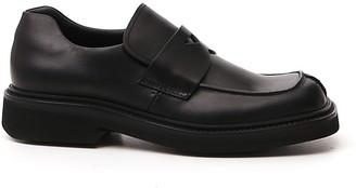 Prada Penny Slip On Loafers