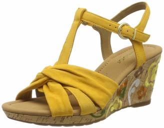 Gabor Shoes Women's Comfort Sports Ankle Strap Sandals Red (Mango (Fl.Mu.) 22) 5 UK (38 EU)