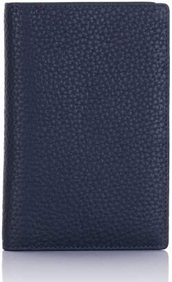 Richmond David Hampton Leather Passport Wallet In Midnight