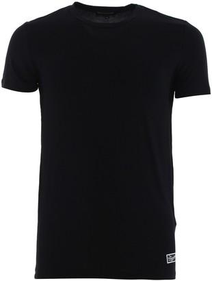 Ermenegildo Zegna Logo Patch T-Shirt