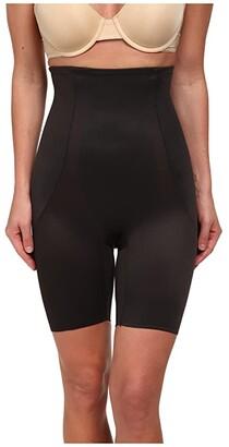 Miraclesuit Shapewear Back Magic High Waist Thigh Slimmer (Black) Women's Underwear