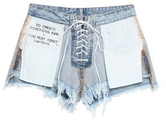 Ben TavernitiTM Unravel Project BEN TAVERNITI UNRAVEL PROJECT Denim shorts