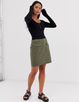 Noisy May utility skirt
