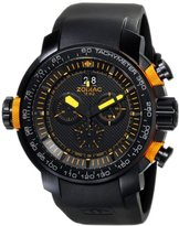 Zodiac ZMX Men's ZO8558 Special Ops Stainless Steel Watch with Black Rubber Band