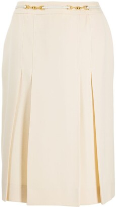 Céline Pre Owned pre-owned chain detail A-line skirt