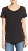 AG Jeans Winslet Scoop Neck Cotton Tee