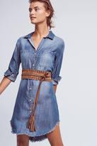 Cloth & Stone Fringed Chambray Buttondown Tunic