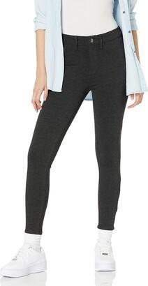 Daily Ritual Amazon Brand Women's Ponte Faux-5 Pocket Flat-Front Legging