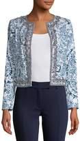 Robert Graham Women's Luana Printed Open Front Jacket