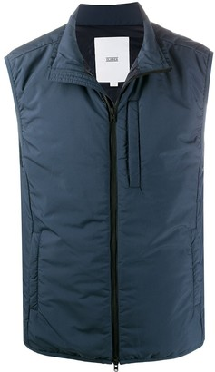 Closed Padded Zip-Up Vest
