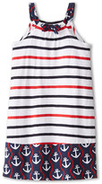 Hatley Nautical Stripes Shirred Dress (Toddler/Little Kids/Big Kids)