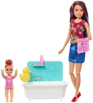 Mattel Barbie(R) Skipper(R) Babysitters INC(TM) Dolls & Playset