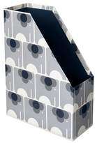 Orla Kiely Ela Elephant Magazine Box Files