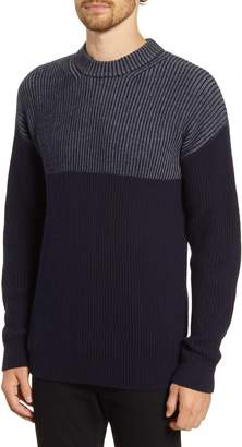 French Connection Regular Fit Stripe Fisherman Sweater
