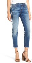 Vigoss Thompson Frayed Crop Tomboy Jeans