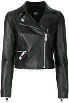 Versus cropped biker jacket