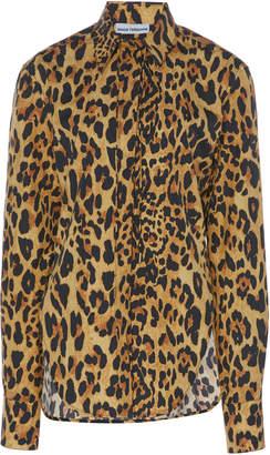 Paco Rabanne Leopard-Print Cotton Shirt