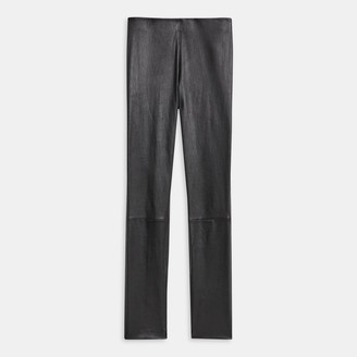Theory Skinny Legging in Leather