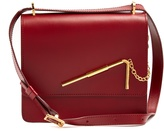 Sophie Hulme Straw medium leather cross-body bag