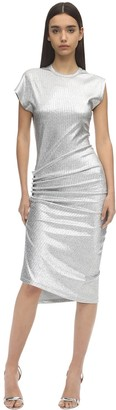Paco Rabanne Stretch Lurex Dress