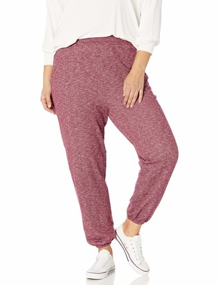 Forever 21 Women's Plus Size Marled Knit Joggers