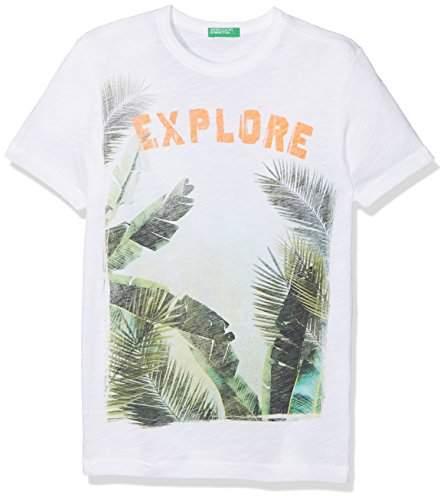 Benetton Boy's T-Shirt T-Shirt,(Manufacturer Size: KL)