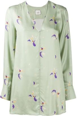 Alysi Pyjama-Style Blouse