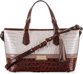 Brahmin Mini Asher Toasted Macaroon Durance Satchel