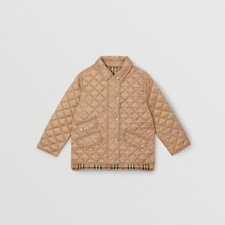 Burberry Childrens Lightweight Diamond Quilted Jacket
